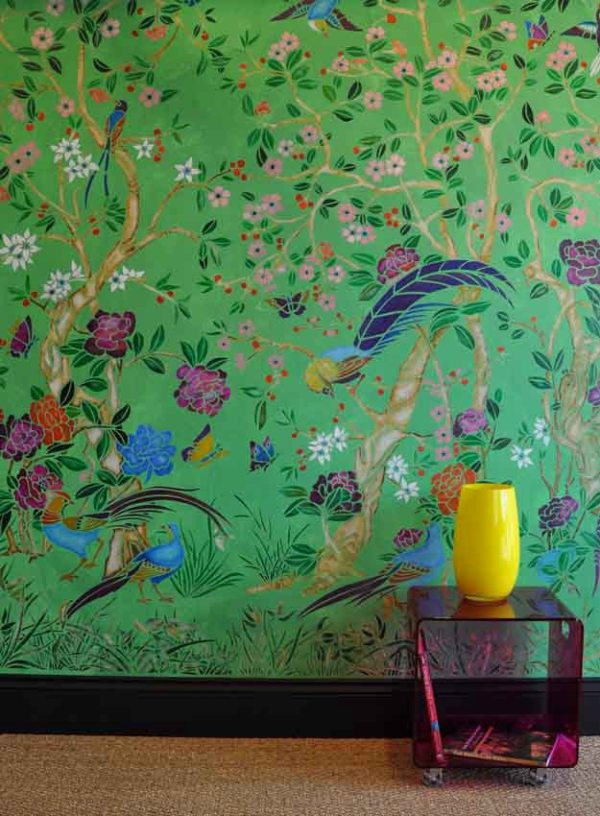 23 chinoiserie interior design oriental style furniture meble chinskie wnetrza tapeta wallpaper