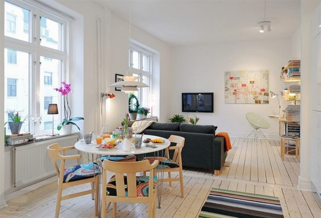 1 Kitchen open to living room kuchnia otwarta na pokoj projektowanie wnetrz interior design