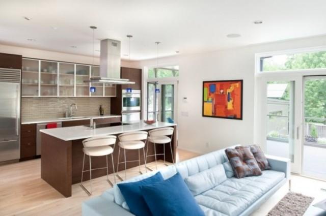 5 Kitchen open to living room kuchnia otwarta na pokoj projektowanie wnetrz interior design