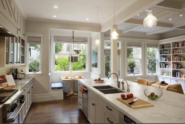 6 Kitchen open to living room kuchnia otwarta na pokoj projektowanie wnetrz interior design