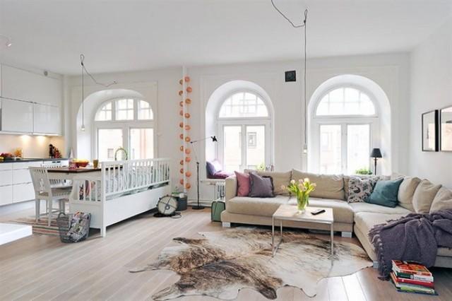 9 Kitchen open to living room kuchnia otwarta na pokoj projektowanie wnetrz interior design