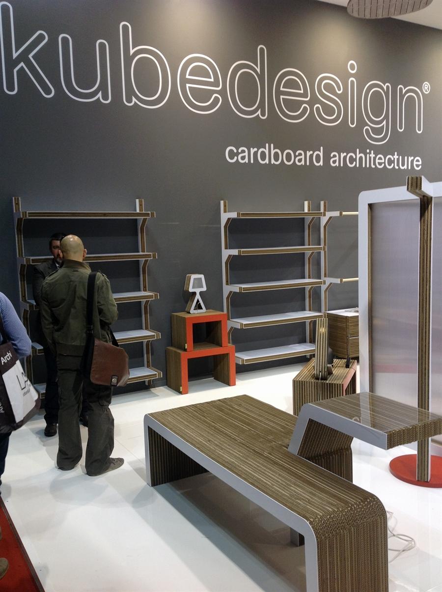 11a iSaloni 2014 milan design week interior design fair design de luxe luksosowe meble targi w mediolanie Kubedesign Cardboard Architecture
