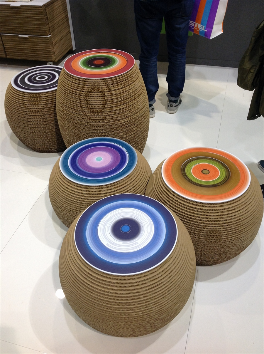 12a iSaloni 2014 milan design week interior design fair design de luxe luksosowe meble targi w mediolanie Kubedesign Cardboard Architecture