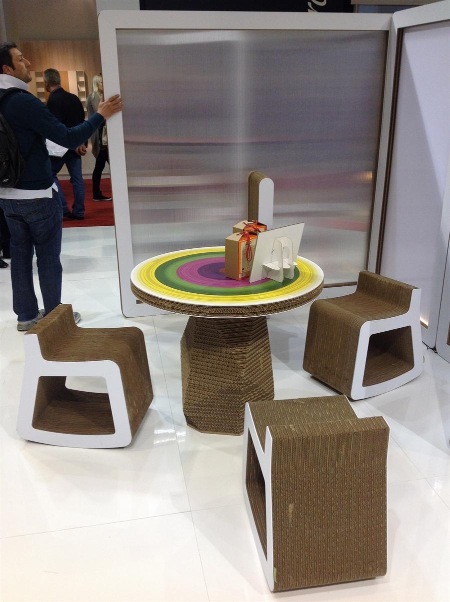 13a iSaloni 2014 milan design week interior design fair design de luxe luksosowe meble targi w mediolanie Kubedesign Cardboard Architecture