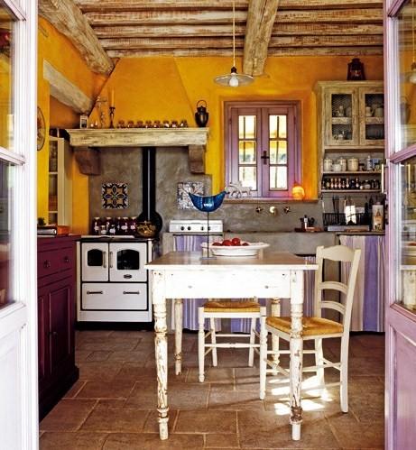 2 Country house interior design in Tuscany toskania projektowanie wnetrz