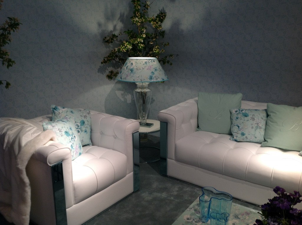 20 blumarine isaloni salone internazionale del mobile targi w mediolanie home decor interior design floral patterns ekskuzywne meble wzory kwiatowe