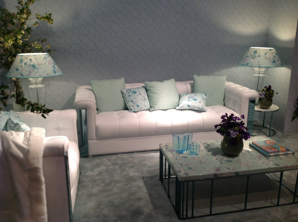 21 blumarine isaloni salone internazionale del mobile targi w mediolanie home decor interior design floral patterns ekskuzywne meble wzory kwiatowe