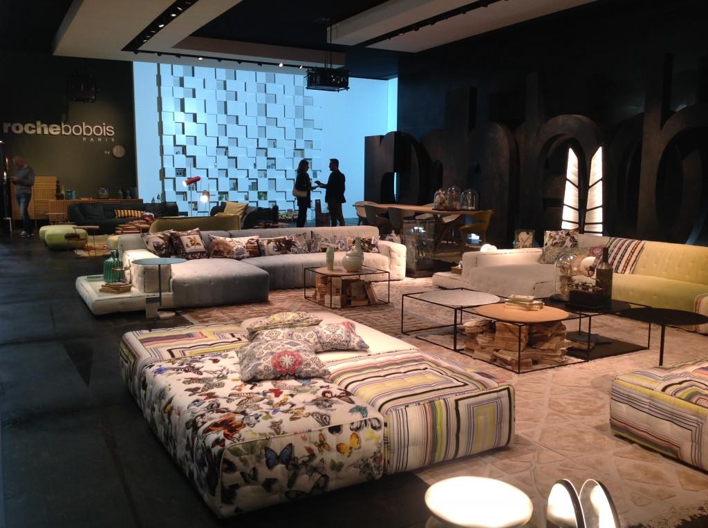 3 iSaloni 2014 milan design week interior design fair design de luxe luksosowe meble targi w mediolanie Roche Bobois