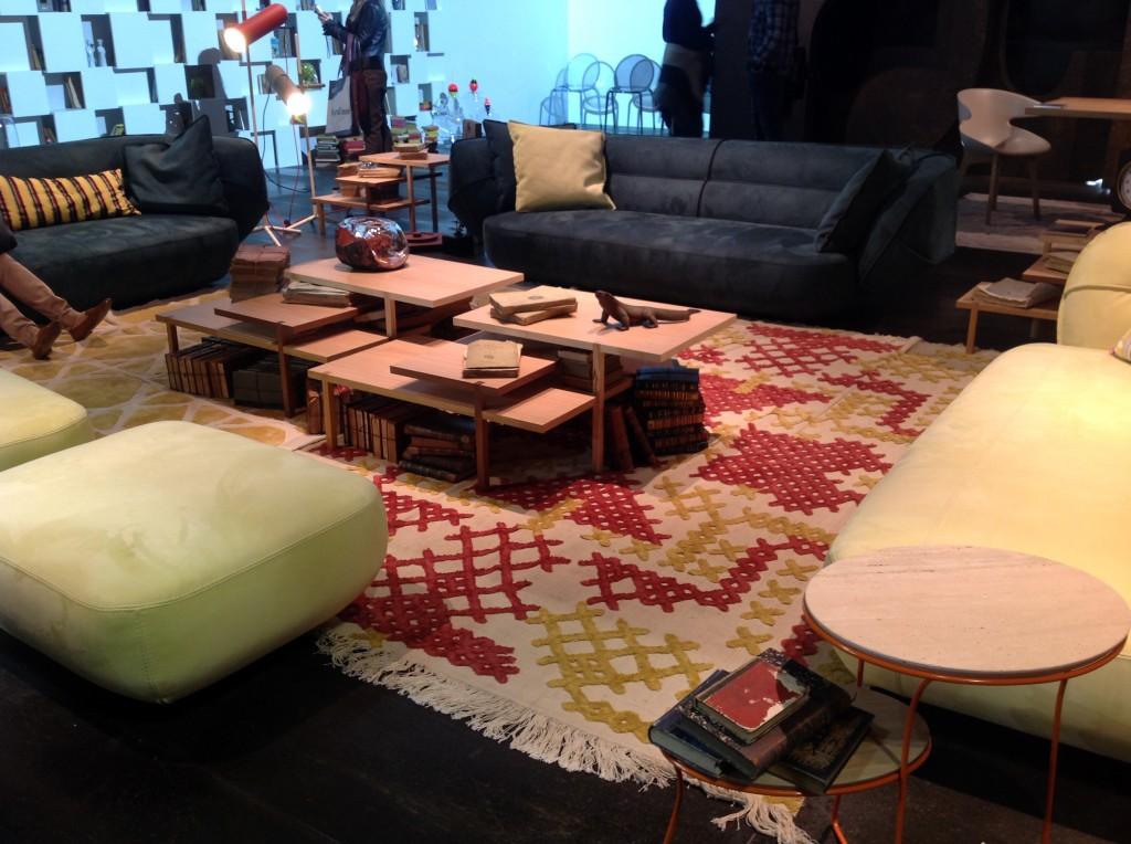 4 iSaloni 2014 milan design week interior design fair design de luxe luksosowe meble targi w mediolanie Roche Bobois