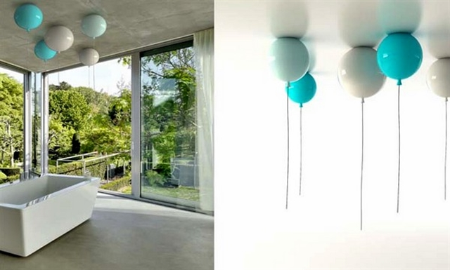 6_Memory_Light_by_Boris_Klimek_ inflatable chandelier light fixture nadmuchiwane meble nietypowe lampy funny design nietypowe projekty do domu balloon lamps