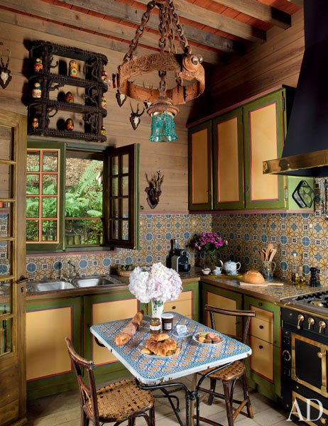 7 pierre berge la dacha normandy log house rustic home decor russian architecture  moroccan windows eastern rugs kitchen