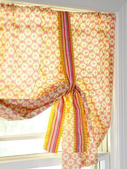 Сшить шторы на ленте