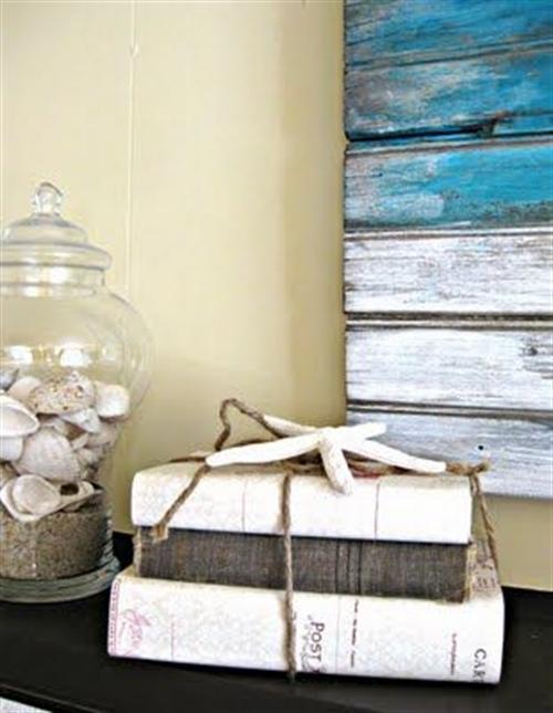 19 nautical interior seaside home style styl morski marynistyczny dom nad morzem blue red white trzy kolory niebieski bialy czerwony aranzacja wnetrz interior design marine livngroom decoration