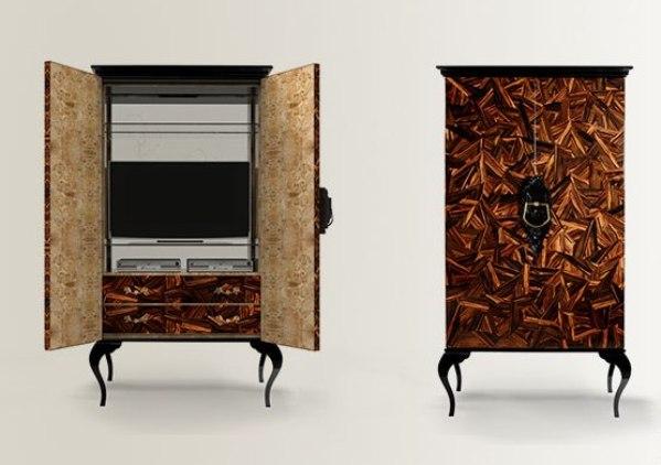 11 guggenheim modern marquetry design cabinet boca do lobo brabbu koket manufactory luxurious furniture meble luksusowe interior design handmade