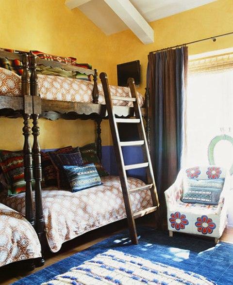 13 hacienda horse ranch kathryn ireland santa fe mexican rustic style styl meksykanski rustykalny dom w kalifornii california retreat interior design projektowanie