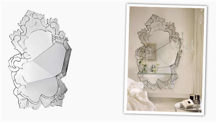 13 venice venetian mirror classic boca do lobo brabbu koket manufactory luxurious furniture meble luksusowe interior design handmade lustro forelements blog