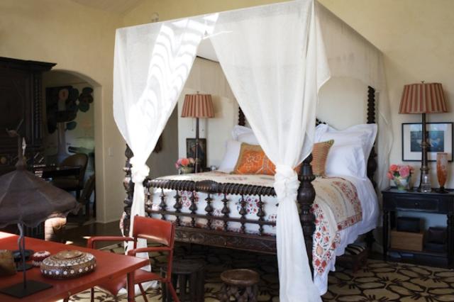 15 hacienda horse ranch kathryn ireland santa fe mexican rustic style styl meksykanski rustykalny dom w kalifornii california retreat interior design projektowanie