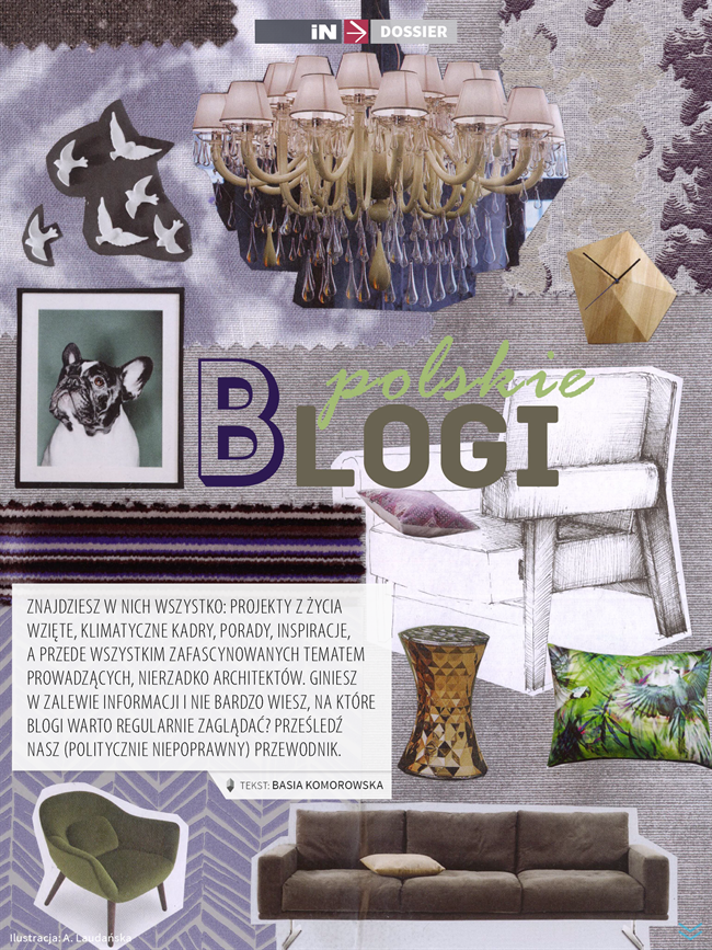 2 iN Magazyn 7-8 najciekawsze najlepsze blogi wnetrzarskie o projektowaniu wnetrz o designie the best most interesting blogs on interiors and design