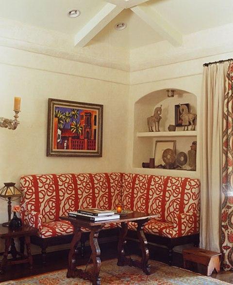 4 hacienda horse ranch kathryn ireland santa fe mexican rustic style styl meksykanski rustykalny dom w kalifornii california retreat interior design projektowanie