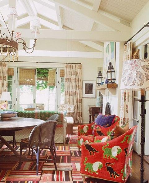 6 hacienda horse ranch kathryn ireland santa fe mexican rustic style styl meksykanski rustykalny dom w kalifornii california retreat interior design projektowanie