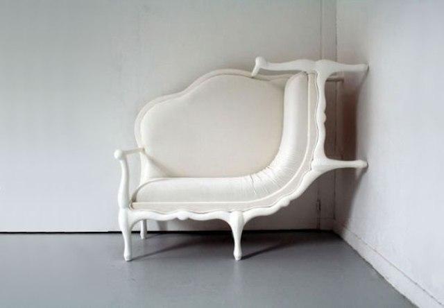 2 nietypowe pogiete meble twisted and curved furniture design funny interior ideas pomysly na ciekawe wnetrze