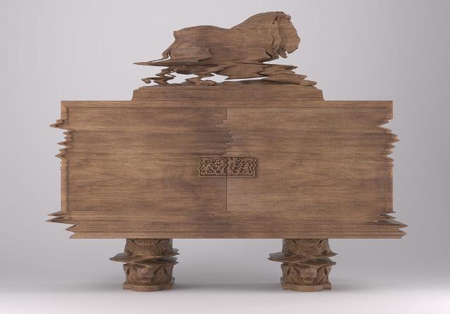 3 Ferruccio Laviani Good Vibrations for Fratellli Boffi unusual furniture design designerskie meble wloskie nietypowe projekty mebli