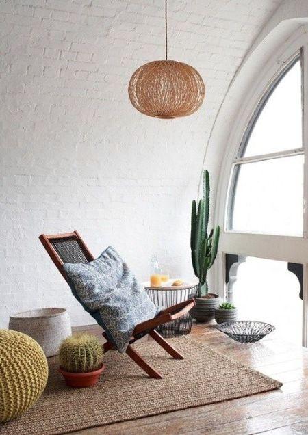 4 letnia aranzacja mieszkania pokoj kuchnia sypialnia taras summer apartment ideas bedroom living room kitchen porch headboard interior design aranzacja wnetrz