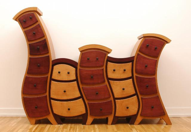 4 nietypowe pogiete meble twisted and curved furniture design funny interior ideas pomysly na ciekawe wnetrze