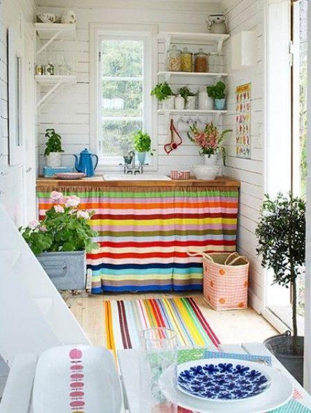 8 letnia aranzacja mieszkania pokoj kuchnia sypialnia taras summer apartment ideas bedroom living room kitchen porch headboard interior design aranzacja wnetrz