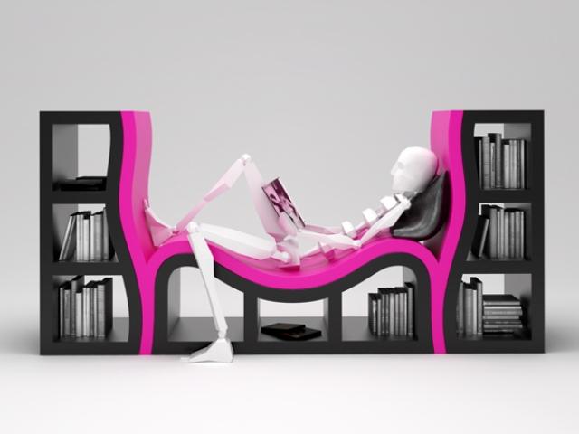 8 nietypowe pogiete meble twisted and curved furniture design funny interior ideas pomysly na ciekawe wnetrze