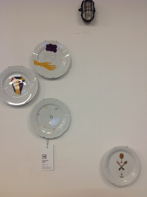 12 Drugie Życie Talerzy  projekt Magdalena Łapińska  producent Łapińska Porcelana vintage tableware upcycling
