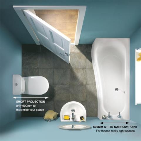 17_Aranzacja_malej_lazienki_pokoj_kapielowy_small_bathroom ideas projektowanie wnetrz iterior design