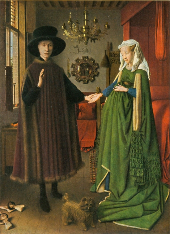 7a Jan van Eyck the arnolfinis benjamin moore color of the year trends 2015 guilford green interior design wall decor projektowanie wnetrz kolor do domu