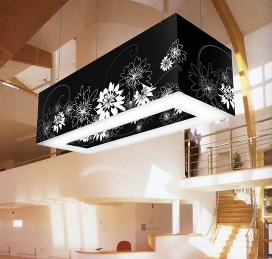 14 black flowers wall decoration interior design czarne kwiaty sciana naklejka tapeta projektowanie wnetrz