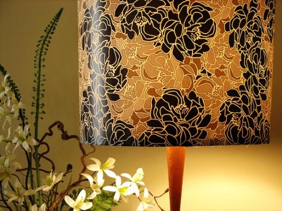 15 black flowers wall decoration interior design czarne kwiaty sciana naklejka tapeta projektowanie wnetrz