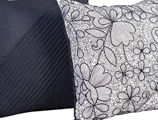 16 black flowers wall decoration interior design czarne kwiaty sciana naklejka tapeta projektowanie wnetrz
