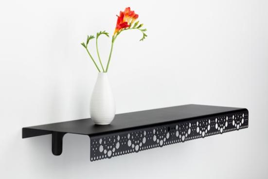17 black flowers wall decoration interior design czarne kwiaty sciana naklejka tapeta projektowanie wnetrz