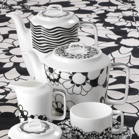 18 black flowers wall decoration interior design czarne kwiaty sciana naklejka tapeta projektowanie wnetrz missoni