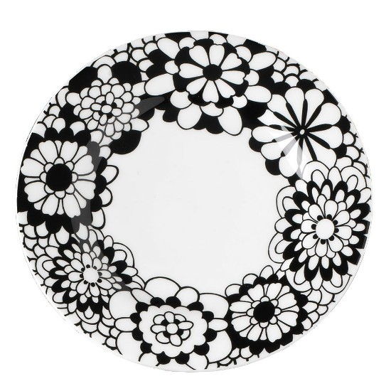 19 black flowers wall decoration interior design czarne kwiaty sciana naklejka tapeta projektowanie wnetrz missoni