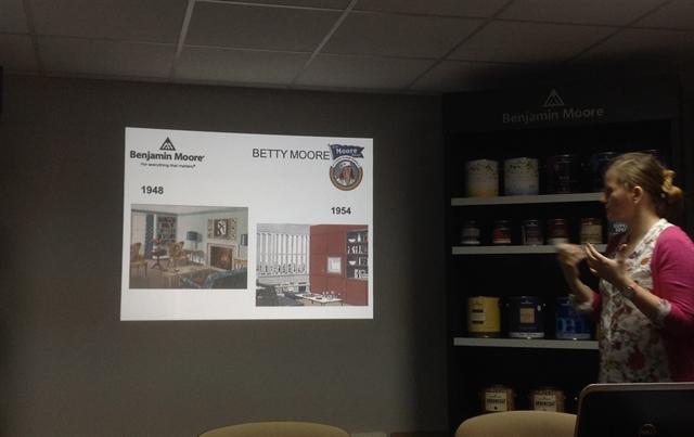 2 benjamin moore paints wall decor farba tablicowa interior design projektowanie wnetrz malowanie mieszkania