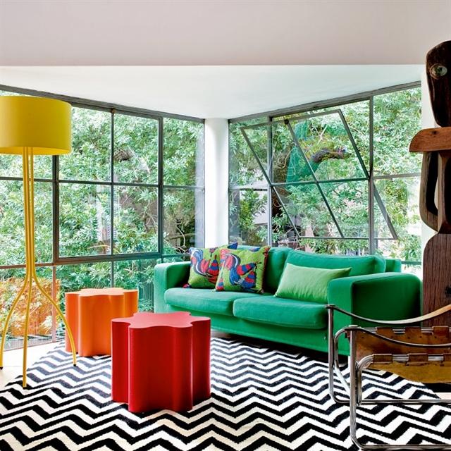 3 popart vintage folk fusion apartment interior design kolorowe mieszkanie