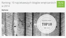 1 myhome_pl najlepsze polskie blogi o wnetrzach FORelements ranking blogow projektowanie wnetrz best polish interior design blogs ranking forum dobrego designu