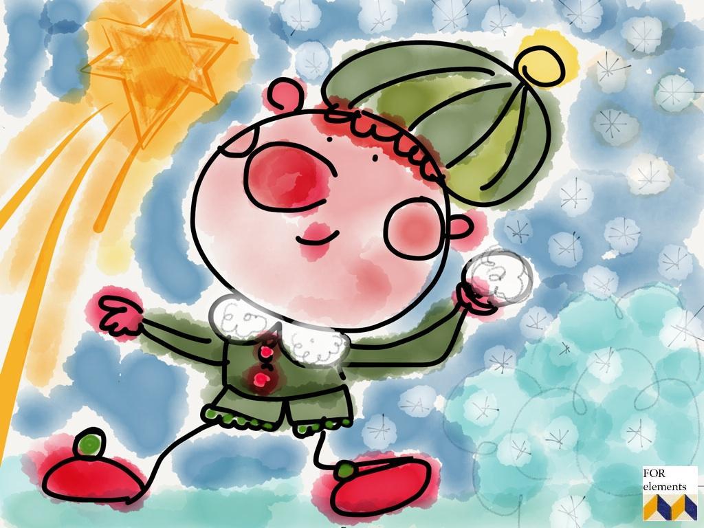 3 aniol swiety mikolaj choinka wigilia kartka swiateczna zyczenia na boze narodzenie xmas handmade selfdrawn postcard christmas wishes home decor interior design ozdoby na swieta projektowanie