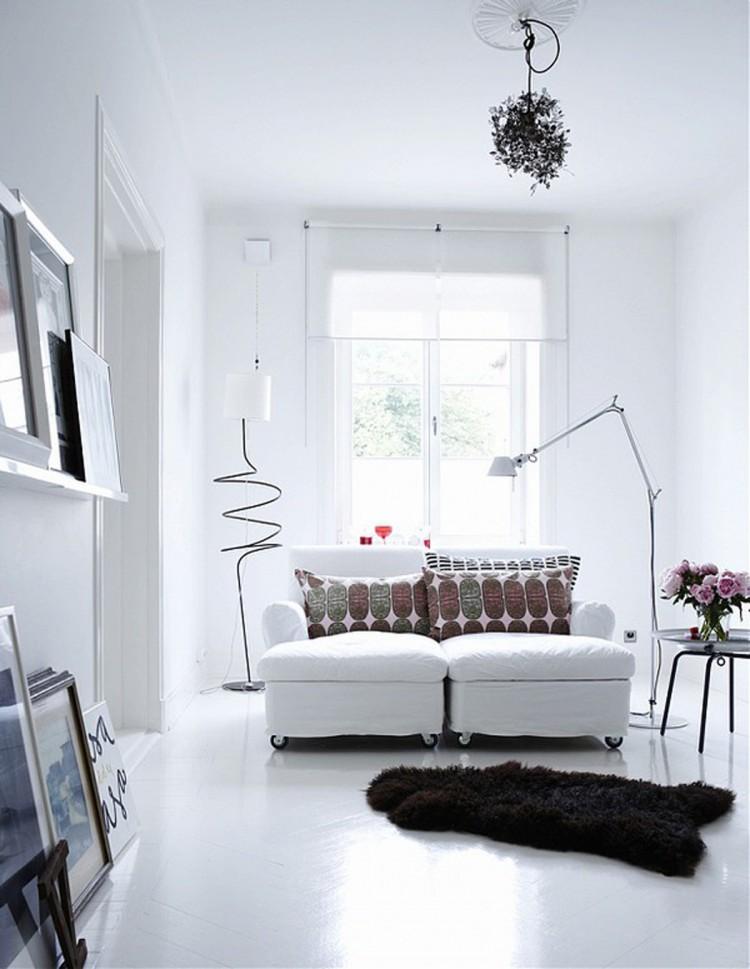 4 scandinavian style apartment in stockholm white interior styl skandynawski biale wnetrze minimalizm w domu minimalist home projektowanie wnetrz interior design