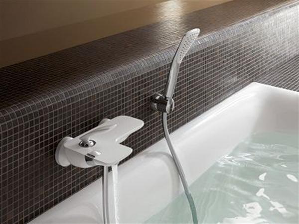 8 kludi balance biala armatura lazienka white faucet bathroom projektowanie wnetrz interior design minimalizm nowoczesne mieszkanie
