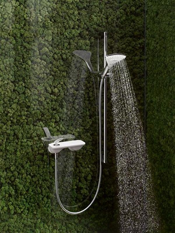 9 kludi balance biala armatura lazienka white faucet bathroom projektowanie wnetrz interior design minimalizm nowoczesne mieszkanie