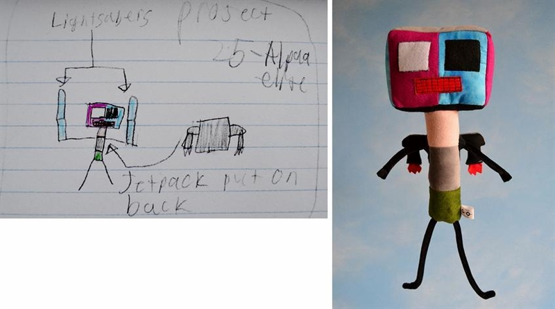 10_Childs_Own_Studio_toys_sewn_after_kids_drawings_zabawki_dla_dzieci_dzieciece_rysunki_diy_dla_dzieci_diy_for_chldren