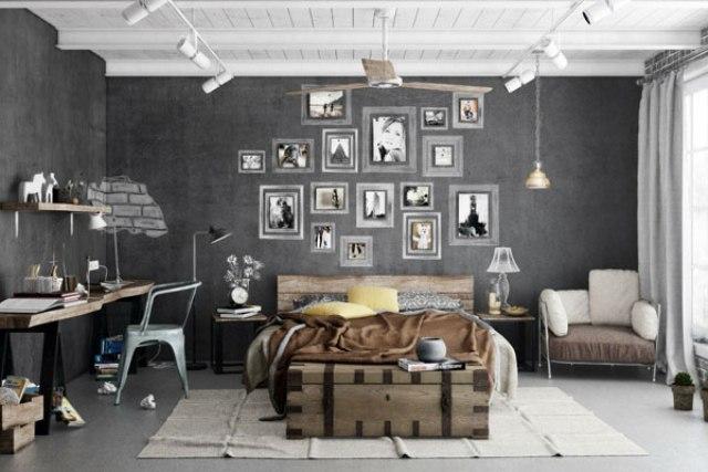 17_industrial_home style interior_design_styl industrialny nowoczesne mieszkanie projektowanie wnetrz