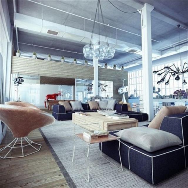 2_industrial_home style interior_design_styl industrialny nowoczesne mieszkanie projektowanie wnetrz