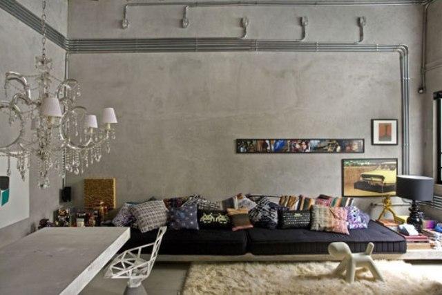 3_industrial_home style interior_design_styl industrialny nowoczesne mieszkanie projektowanie wnetrz